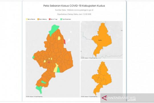 Desa berstatus zona merah di Kudus berkurang tersisa dua desa