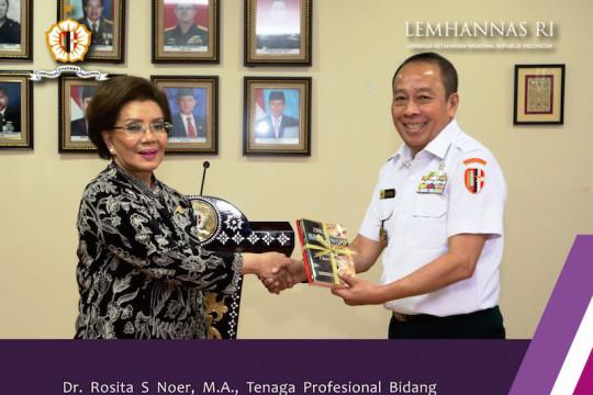 Obituari - Pengabdian sepanjang hayat dr Rosita S Noer di Lemhannas