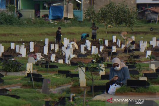 Satgas: Sehari 10 hingga 30 jenazah COVID-19 dimakamkan di Bekasi