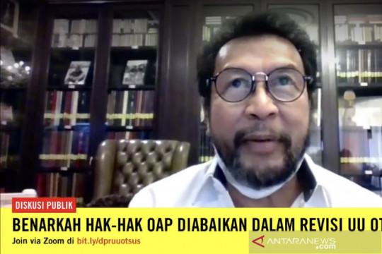 Yorrys Raweyai: Revisi UU Otsus Papua terobosan atasi masalah