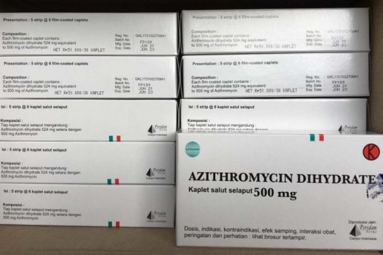 Tiga varian obat terapi COVID-19 alami kekosongan stok di apotek