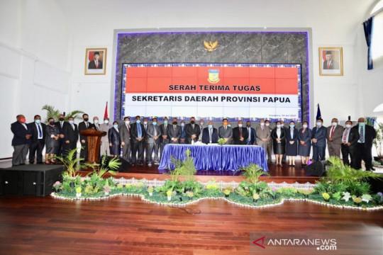Ridwan Rumasukun jabat Pelaksana Tugas Sekda Papua