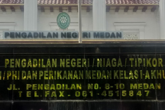 PN Medan vonis mati kurir 41,8 kg sabu-sabu asal Jawa Timur