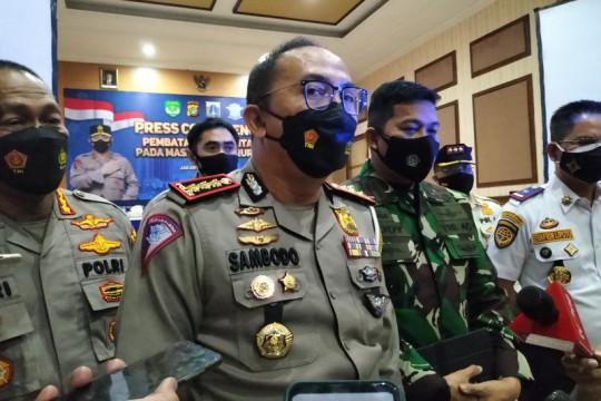 Polda Metro Jaya tidak jaga jalur tikus di penyekatan PPKM Darurat