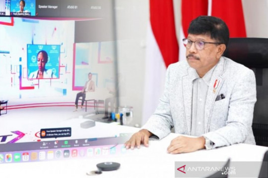 Menkominfo Paparkan Roadmap Digital Indonesia dalam ATxSG