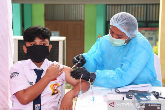 Kemendikbudristek dorong siswa ikuti vaksinasi COVID-19