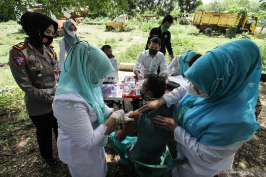 Vaksinasi COVID-19 untuk pemulung
