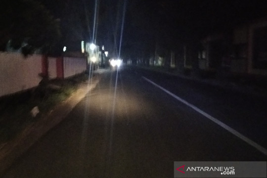 Pemadaman LPJU Kudus belum bisa turunkan mobilitas warga selama PPKM