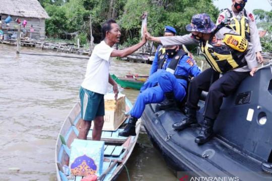 Polairud Polda Sumsel siagakan ambulans terapung di Sungai Musi
