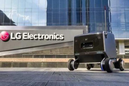 """LG perkenalkan robot pengiriman """"indoor-outdoor"""""""