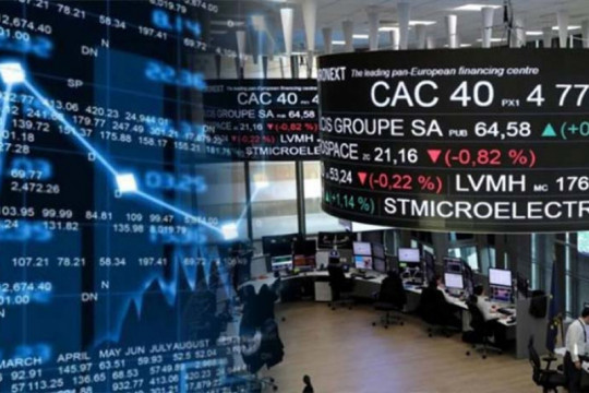 Saham Prancis berakhir di zona merah, indeks CAC 40 jatuh 0,79 persen