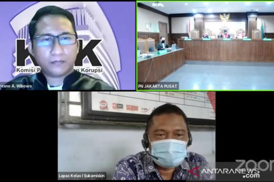 Eks panitera PN Jakarta Utara Rohadi divonis 3,5 tahun penjara