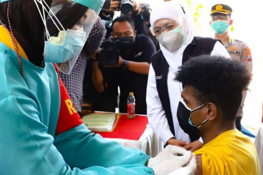 """Forkopimda Jatim pastikan kelancaran vaksinasi """"door to door"""""""