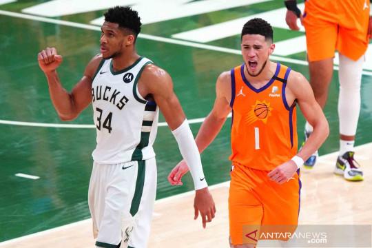 Bucks kalahkan Suns, samakan kedudukan 2-2 dalam Final NBA