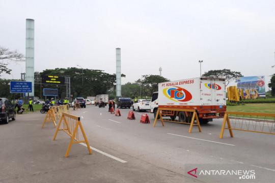 Mobilitas kendaraan di Kabupaten Bekasi turun 31 persen