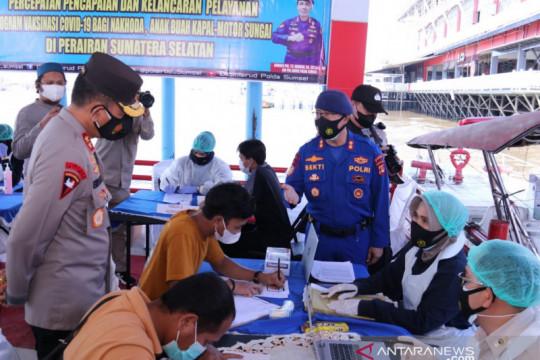Polda Sumatera Selatan buka layanan vaksinasi terapung untuk ABK