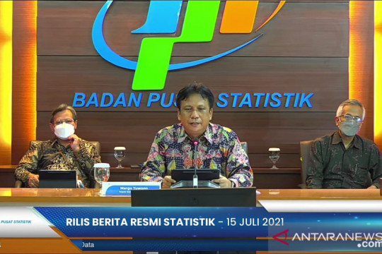 BPS: Rasio gini Indonesia turun jadi 0,384 pada Maret 2021