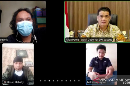 Jurnalis minta Wagub DKI permudah akses penanganan COVID-19 bagi media