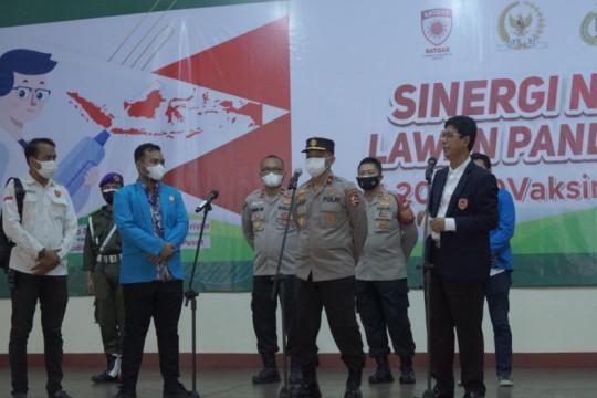 Gandeng DPR dan Polri, BEM Nusantara gelar vaksinasi massal