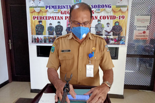 Satgas: Kota Sorong tambah 302 pasien dan dua meninggal dunia