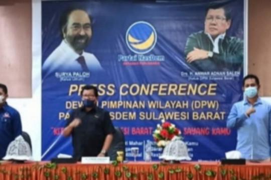 Mantan Gubernur pimpin Nasdem Sulbar