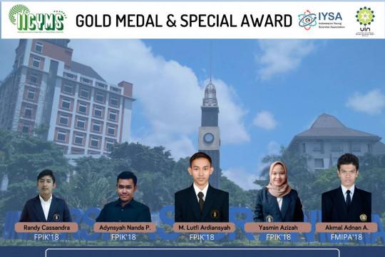Piranti penghitung nener mahasiswa UB raih medali emas di ajang IICYMS