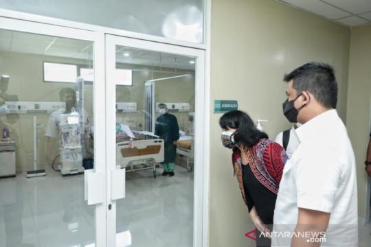 Bobby Nasution minta rumah sakit tambah tempat tidur pasien COVID
