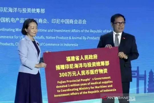 China beri bantuan medis dan vaksin senilai 7,8 juta dolar