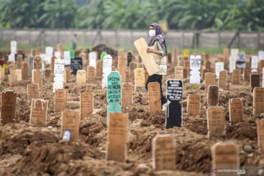Beban kerja petugas makam TPU Rorotan berkurang signifikan