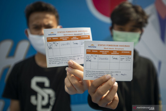 Persoalan izin orang tua sebabkan vaksinasi remaja tersisa 15 persen
