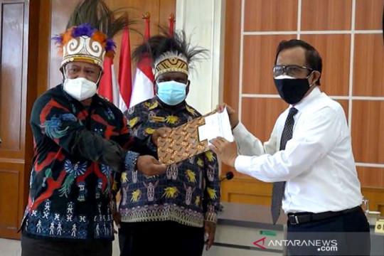 Mahfud: Pengesahan UU Otsus Papua untuk kesejahteraan masyarakat Papua