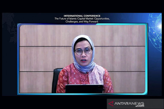 Sri Mulyani: Kapitalisasi pasar saham syariah capai Rp3.372,2 triliun