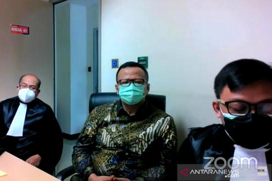 Satu hakim menilai Edhy Prabowo tidak tahu asal uang suap
