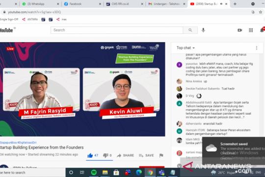 Telkom-Gojek akselerasi pengembangan startup muda di KTI