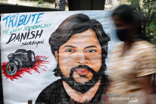 Jurnalis Reuters tewas saat meliput bentrokan Afghanistan-Taliban