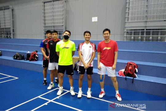 Rionny ungkap kondisi timnas bulu tangkis seminggu di Kumamoto