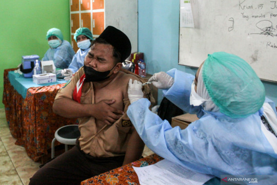 Penerima vaksin COVID-19 dosis lengkap bertambah 130.630 orang