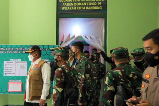 Kasatgas COVID-19 pastikan kesiapan isoman warga Bandung