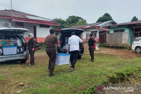 Kejati Bengkulu menggeledah kantor Dinas Perkebunan Bengkulu Utara