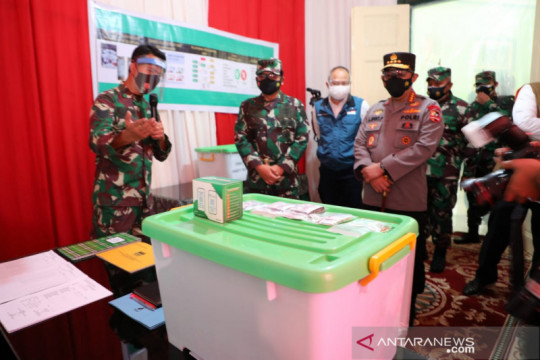 Panglima TNI pastikan kesiapan obat untuk pasien COVID-19 isoman