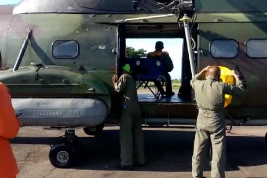 SAR: Heli Super Puma diturunkan bantu cari KM nelayan yang tenggelam