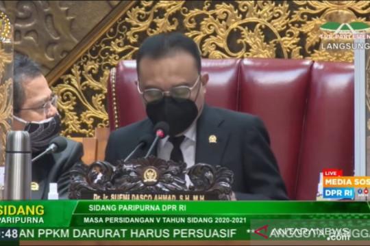 Satgas Lawan COVID-19 DPR terima donasi 1 juta masker