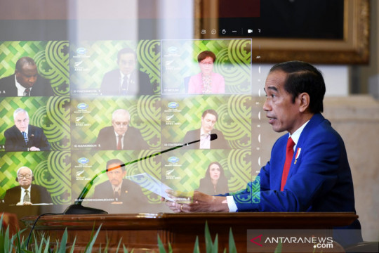 Presiden hadiri virtual KTT Informal APEC bahas penanganan COVID-19