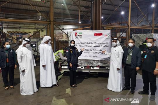 UAE kirim bantuan alkes ke Indonesia untuk atasi COVID-19 varian Delta