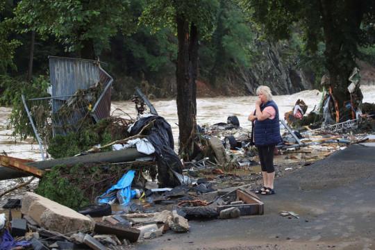 Banjir parah di Jerman sebabkan 81 orang tewas, 1000 lebih hilang