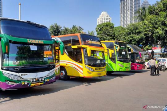 Bus AKAP gunakan terminal bayangan untuk hindari PPKM Darurat