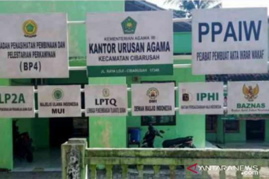 KUA Kabupaten Bekasi tutup layanan pendaftaran nikah