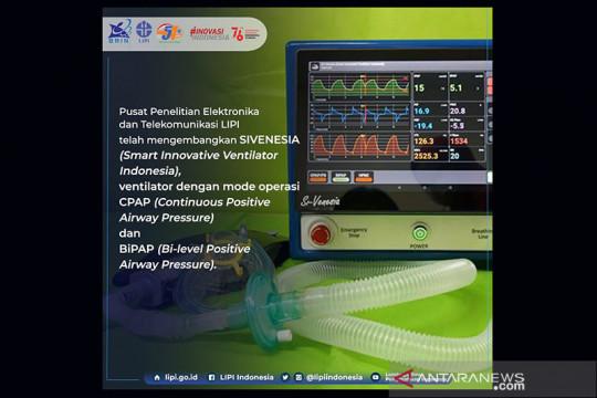 LIPI kembangkan ventilator Sivenesia bantu penanganan COVID-19
