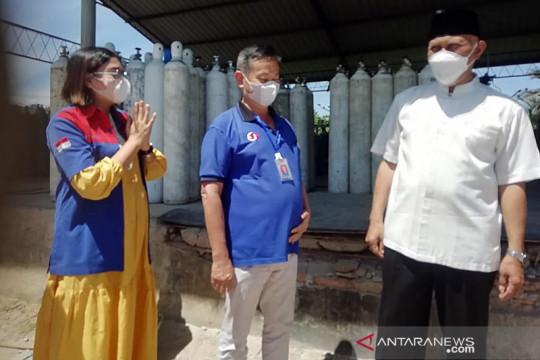 Sumbar dapat bantuan oksigen 30 ton dari Riau