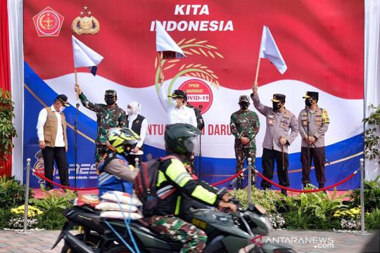 Panglima TNI: Gunakan strategi ofensif defensif tangani COVID-19